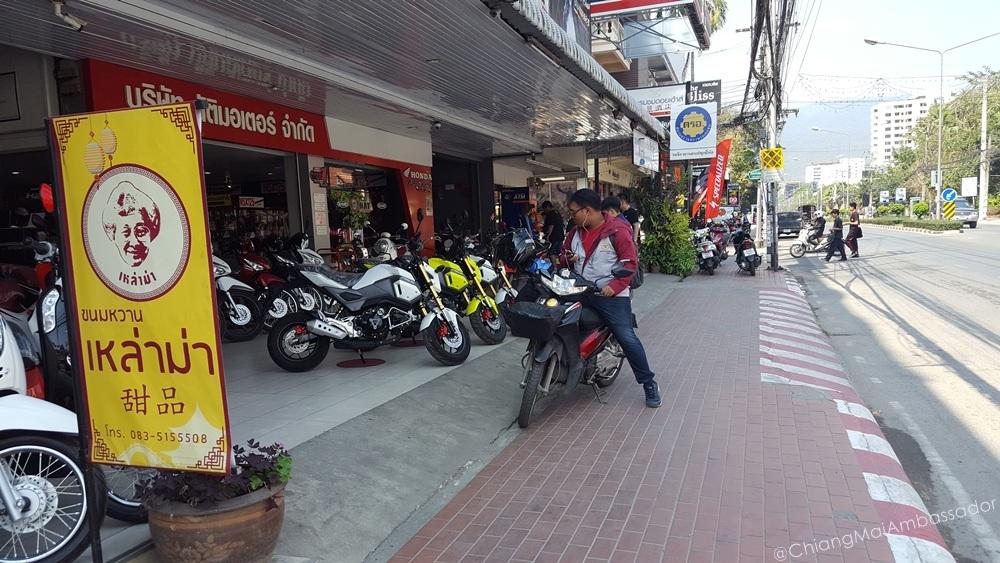 Motorbike registration front