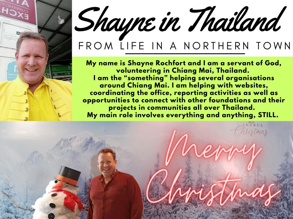 Merry Christmas Chiang Mai Ambassador chiangmaiambassador
