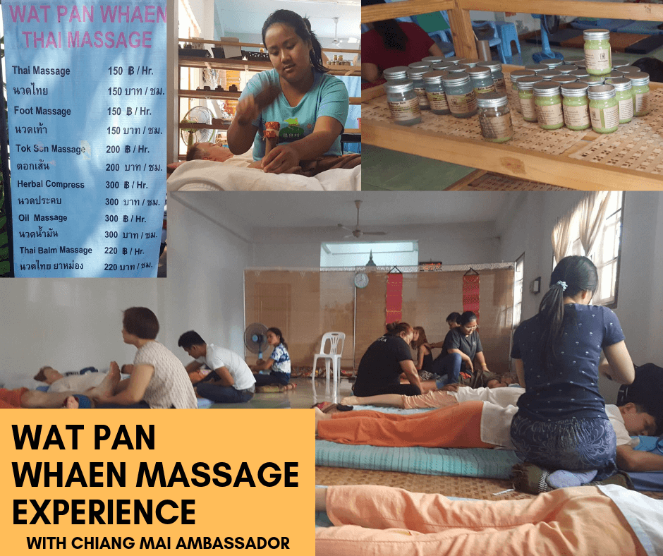 Real Thai Massage – at Wat Pan Whaen