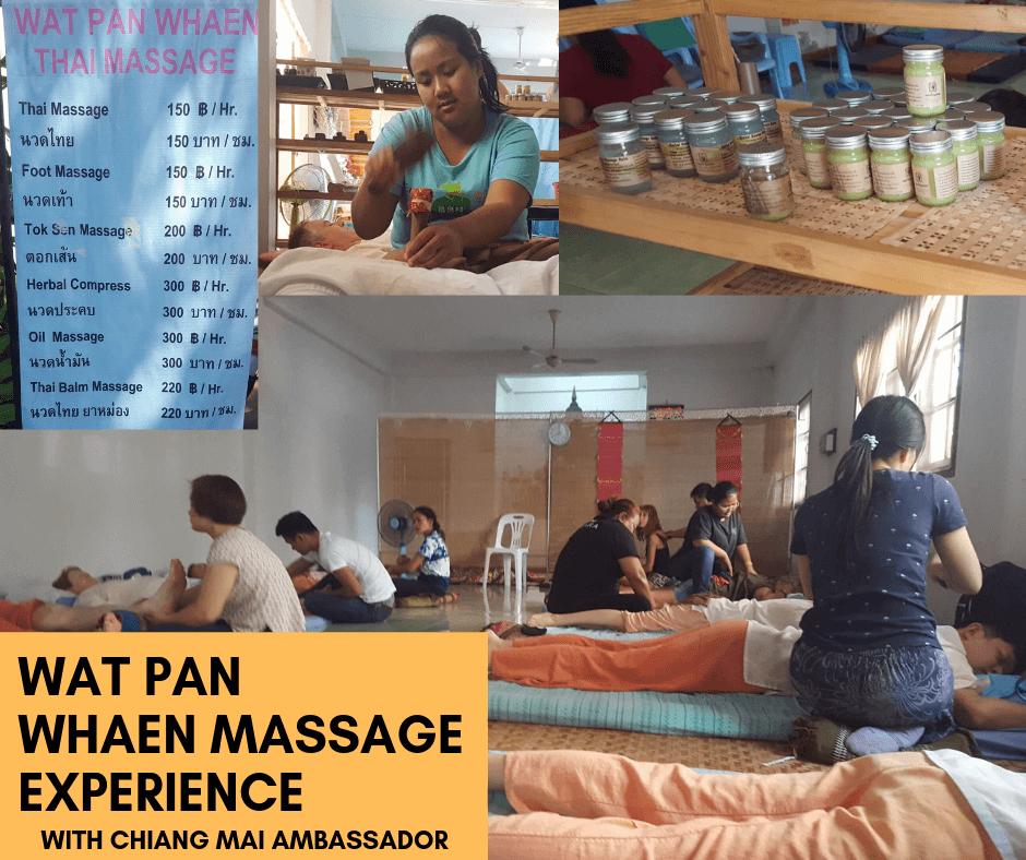 Real Thai Massage – at Wat Pan Whaen